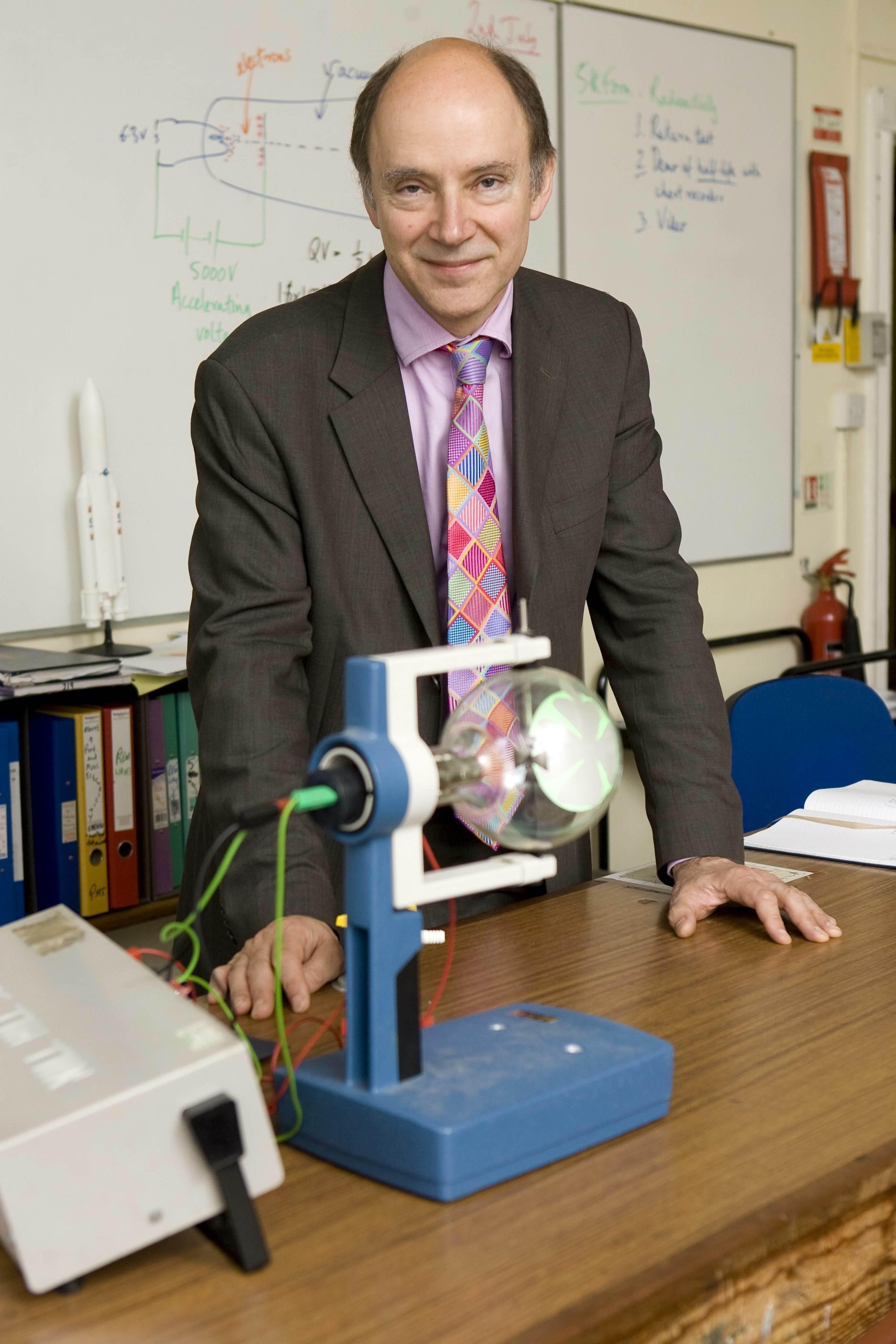 Philip in Lab